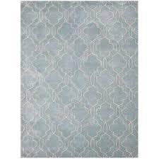 caitlin aqua gray 2 ft x 3 ft rectangle area rug
