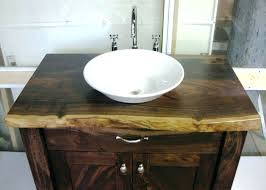 Cozy Bathroom Sink Bowls With Vanity Glass Units Vessel  Sinks Inch On Top Of E64