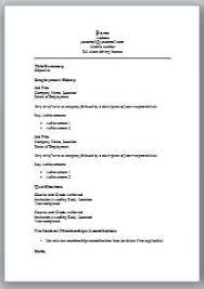 simple resume format in word simple resume template word word formatted resume