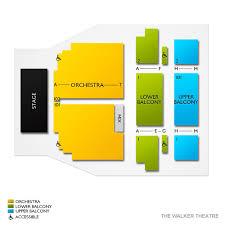 Walker Theatre Tn 2019 Seating Chart