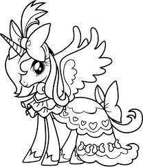 Small Picture Free My Little Pony Coloring Pages FunyColoring