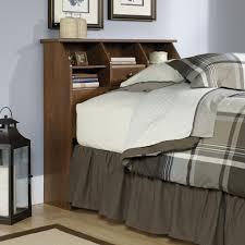 Sauder Bedroom Furniture Sauder Shoal Creek Oiled Oak Twin Bookcase Headboard 411904