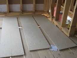 Montiert man eine unterdecke an federbügel, verringert sich zusätzlich der luftschall. Unterwelt Fussboden Mit Unterkonstruktion Aus Holzwerkstoffplatten Bauhandwerk