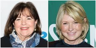 Ina Garten Reveals She's Always Supported Martha Stewart - Ian Garten and  Martha Stewart Are Friends