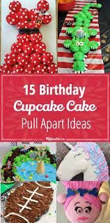 15 Birthday Cupcake Cake Ideas Recipes Tip Junkie