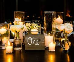 Lovable Candles For Wedding Tables 1000 Ideas About Candle Centerpieces On  Pinterest Floating