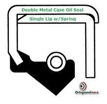 Metric Oil Shaft Seal 70 X 90 X 12mm Single Lip Double Metal Case