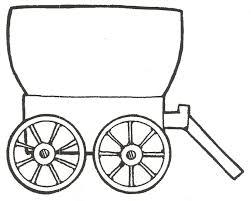 pioneer wagon drawing. pin pioneer clipart horse drawn wagon #5 drawing n