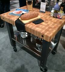 Butcher Block Kitchen Island Rolling Kitchen Island With Butcher Block Top Best Kitchen