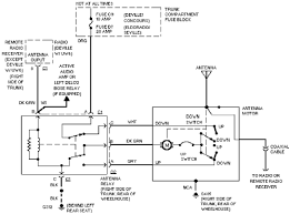 cadillac concours power antenna circuit cadillac concours power antenna circuit diagram