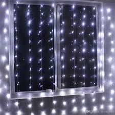 Curtain Led Lights Uk Wholesale 4mx2m 256 Led Indoor Holiday Lighting Christmas Decorative Xmas Curtain String Fairy Garlands Party Wedding Light Us Uk Eu Au Red String