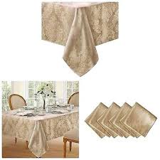 no iron table cloth soil resistant fabric damask tablecloth round tablecloths for wedding