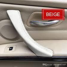 car door handle. Raw Leather Car Inner Door Handle Cover /car /  Interior Trim For BMW Series 3 E90 E91 E92 E93 Car Door Handle P