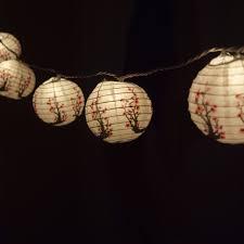 Bulk Paper Lanterns With Lights 10 Socket Cherry Blossom Sakura Round Paper Lantern Party