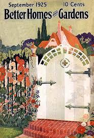better homes and garden magazine. Vintage Magazine - Better Homes \u0026 Garden September 1925 Cottage Gate And