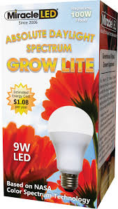 Horticultural Led Grow Lights Walmart Miracle Led Daylight White Grow Lite Full Spectrum Replace 100w
