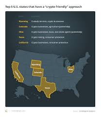 Why use a bitcoin atm? Us Crypto Review Top 5 States With Welcoming Regulations
