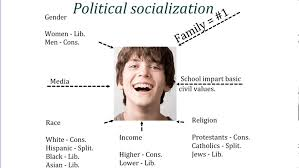important stages of political socialization