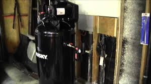 husky gallon air compressor