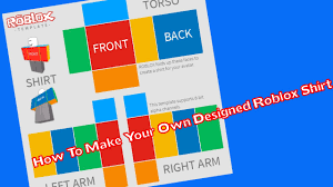 How To Create A Shirt On Roblox How To Make A Custom Shirt Template Roblox