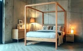 Platform Canopy Bed King Contemporary Sets California Zinus ...