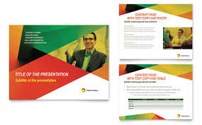 presentation template designs public relations company powerpoint presentation template design