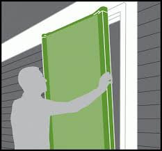 entry doors with retractable screens. place screen onto door frame outer face-mount installation makes the easy to square while providing maximum air flow and an unobstructed view entry doors with retractable screens