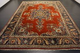 magnificent hand knotted oriental carpet indo nain 250 x 340 cm made