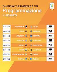 Lega Serie A - Campionato Primavera 1 TIM nel vivo. 🗓...