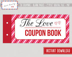 love coupons valentine s day coupon book r tic 🔎zoom