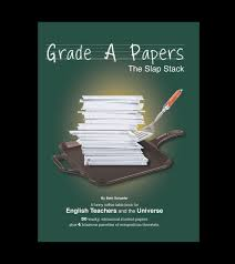 grade a papers a funny coffee table book for english teachers and the universe