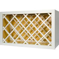 Kitchen Cabinet Wine Racks 30 Inch Wine Rack Cabinet In Shaker White 30 Everyday Cabinets