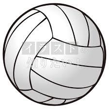 ワンポイントイラスト スポーツ バレーのボール イラスト無料