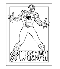 Spiderman Coloring pages   Coloring page   FREE Coloring pages for ...
