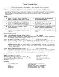 Sample Resume Clinical Research Project Manager New Clinical