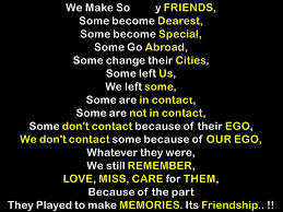 Quotes About Past Memories Of Friendship