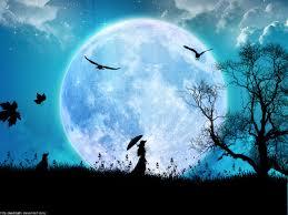 Resultado de imagem para les cieux, l'ouvrage de tes doigts, la lune et les étoiles