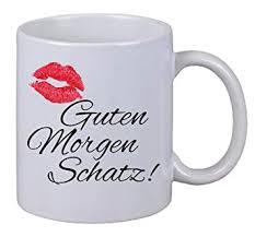 Netspares 119310172 Kaffee Tasseguten Morgen Schatz Kuss Kiss