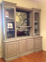 Paint Wash On Wood Custom Oak Wall Unit Limed Oak Finish Painted In Chalk Paint