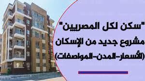 طريقة حجز شقة في مبادرة الرئيس سكن لكل المصريين 2 - كورة في العارضة