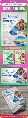 Travel And Tourism Flyer Psd Template