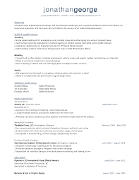 Artistic Skills Resume Free Resume Example And Writing Download