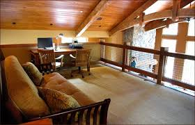 Home office cabin Inside Log Cabin Loft Office Overstockcom Log Cabin Loft Office Conestoga Log Cabins Homes