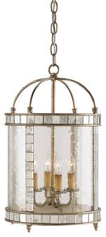 bering 4 light chandelier in harlow silver leaf