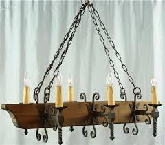 curtain glamorous spanish style chandelier 19 large vintage mission oakiron 6 lights long spanish style chandelier