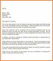 teacher appreciation letter from principal teacher appreciation letter sop proposal