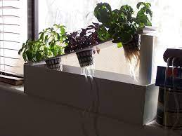 own hydroponic window herb garden system