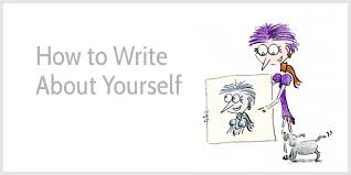how to write about yourself 3 lessons