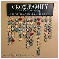 diy family birthday calendar family birthday board hand painted no vinyl family celebrations