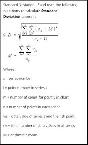 Add Error Bars Standard Deviations To Excel Graphs Pryor